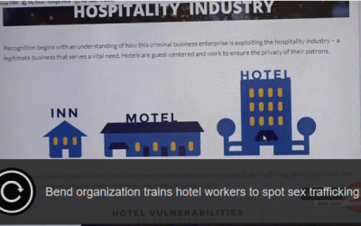 KTVZ 21: Bend Nonprofit Helps Hotels Combat Sex Trafficking